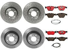 Brembo Front and Rear Brake Kit Drilled Disc Rotors Ceramic Pads For BMW E90 E92