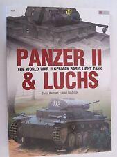 Kagero Book: Panzer II. & Luchs -  The World War II German Basic Light Tank