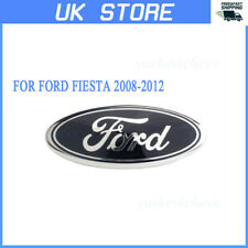 1PC Oval Badge Front Back Bonnet Emblem For Ford Fiesta 2008-2012