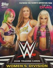 WWE 2018 WOMEN'S DIVISION Autograph / Shirt - Mat Relic CARD Singles Topps