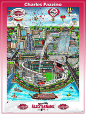 MLB All-Star Game CINCINNATI 2015 Official FAZZINO Pop Art Commemorative POSTER