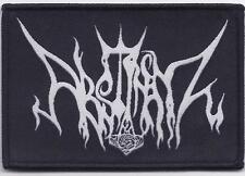 Abstinenz - Logo Aufnäher / Patch (Black Metal Sammlung)