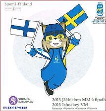 FINLAND - IJSHOCKEYSET 2013 BU - 8 MUNTEN + PENNING