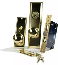 Guard Security Gotham Heavy Duty Mortise Attached Lockset (Right Hand, Satin Chr