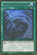 *** MYSTICAL SPACE TYPHOON *** (MINT/NM) GLD5-EN038 GHOST RARE YUGIOH !