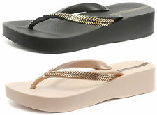 Ipanema Bella Womens Brasil Beach Wedge Flip Flops SIZES AND COLOURS 81256