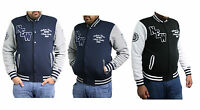 Unisex American Style Varsity Letterman University College Baseball Teddy Jacket