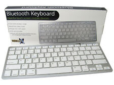 New Bluetooth Wireless Keyboard for Tablets Apple iPad iPhone Samsung Android