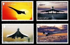 👉 GIBRALTAR 2019 CONCORDE PLANES MNH AVIATION, TRANSPORT