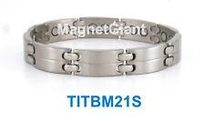 Cool - High power mens magnetic Titanium bracelet (5000 gauss magnets)
