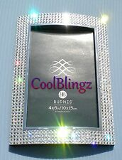 4Row 4x6 Bling Crystal Rhinestone Photo Picture Frame made w/ Swarovski Elements