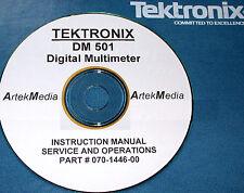 Tek DM501 Digital Mulitmeter Ops & Service Manual