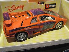 LAMBORGHINI DIABLO MONSTER Walt Disney collec 1/18 BURAGO 2005 voiture miniature