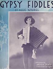 1933 - Arthur Tracy - Gypsy Fiddles - Accordion photo!