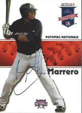 Chris Marrero 2008 TriStar Projections Signed Card
