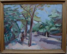 Ejnar Larsen 1902-1986,  Promenade in der Allee, um 1940