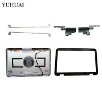 For Dell XPS L501x L502x  LCD Back Cover/LCD Front bezel/Hinges/Screen bracket