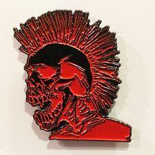 THE EXPLOITED Punks Not Dead metal enamel pin uk82 punx casualties hardcore