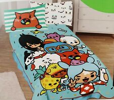 "TOCA BOCA Oversized Plush Blanket Twin Bedding 62"" x 90"" Super Soft NEW Gift"