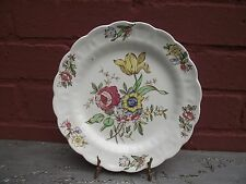 Vintage cabines 9 3/4 pouces Salade/Starter Plaque Plymouth Pattern A8007