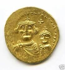 BYZANTINE HERACLIUS (610-641) SOLIDUS OR CONSTANTINOPLE !!!!!