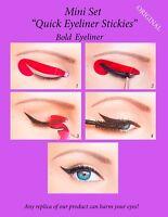 24 pcs Quick Eyeliner Stickies Stencils Perfect Eye Makeup MINI SET ORIGINAL CA