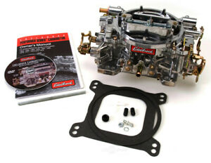 Edelbrock 1407 Performer 4 Barrel Carburetor, 750 CFM, Manual Choke