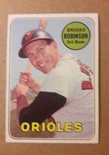 1969 Topps Baseball Brooks Robinson #550