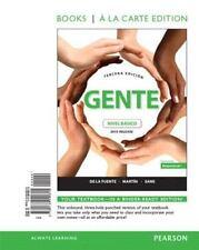 Gente: nivel básico, 2015 Release, Books a la Carte (3rd Edition) by De la Fuen