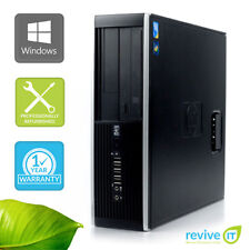 HP Elite 8000 SFF  Core 2 E8400 3.00GHz 4GB 500GB Win 7 Pro 1 Yr Wty