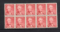 1947 **MUH** 2.5d LAKE - 150th ANNIV. of NEWCASTLE - BLOCK of 10 - EXCELLENT