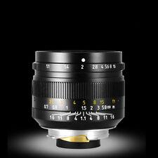 50mm F1.1 Porträt Fixed Fokus Objektive Für Leica M-Mount Kameras Schwarz Pop