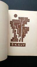 Josef Capek checo vanguardista Libro Diseño tipografía modernismo Konstantin Biebl se