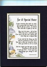 A Birthday Gift Present Poem For A Sister, #62