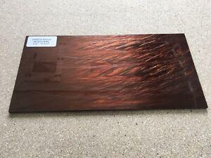 """KIRINITE: Bronze Pearl 3/8""""  6"""" x 12"""" Sheet for Wood Working, Knife Making"""