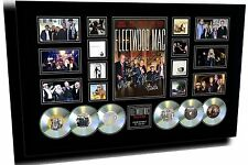FLEETWOOD MAC ON WITH THE SHOW TOUR 2 SIGNED LIMITED EDITION FRAMED MEMORABILIA