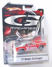 Hot Wheels G MACHINES Classical Gassers '71 Dodge Challenger Red Snapper 1:50