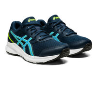 Asics Boys Jolt 3 GS Running Shoes Trainers Sneakers Navy Blue Sports