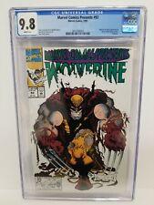 Marvel Comics PRESENTS #92 CGC 9.8 NM/MT Wolverine, Ghost Rider, Sam Kieth Cover