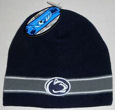 on sale 3b8cc 6f3c2 PENN STATE NITTANY LIONS TOP OF THE WORLD WINTER HAT MEN S KNIT BLUE OSFM  BEANIE