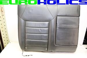 Volkswagen VW Touareg 07-10 Right Rear Seat Back Upper Top Cushion Cover BLACK