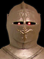 Haunted Knight  - Life Size - Halloween Prop - Decorative Statue