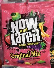 Now and Later Long Lasting Original Mixed Fruit Chews 4 Oz Bag