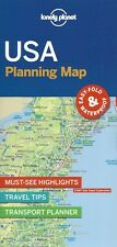 Lonely Planet USA Planning Map *FREE SHIPPING - NEW*