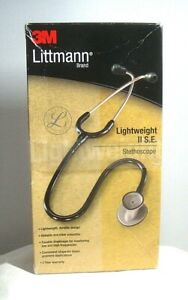 "3M Littmann Lightweight II S.E. Stethoscope Black 28"" 2450"