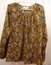 Women's Michael Kors Blouse Shirt XL