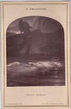 GOUPIL & Cie - P. DELAROCHE - MARTYRE CHRETIENNE - Carte-album n° 66 - 1890 ca