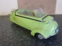 REVELL DIE-CAST MESSERSCHMITT BUBBLE CAR GREEN 1996 VGC FOR AGE - NO ROOF TOP