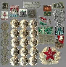 Rare Old LENIN Medal Pin Badge COLD WAR Russia CCCP Coin Vintage Collection 104