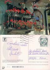 VALTELLINA - BALCONE CON FIORI - (rif.fg.7581)